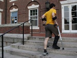 Forearm Crutch Mod